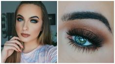 trendy makeup tips for beginners eye shadows urban decay Basic Eye Makeup, Eye Makeup Tips, Makeup For Brown Eyes, Smokey Eye Makeup, Skin Makeup, Beauty Makeup, Makeup Ideas, Eyeshadow Tips, Makeup Inspo