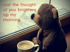 Brightens up my morning