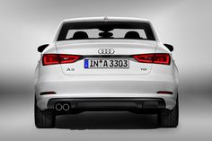 Perfect athletic, elegant, sporty and so clarssy lines! 2014 Audi A3 Sedan