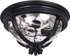Camden VX 3 Light Flush Mount