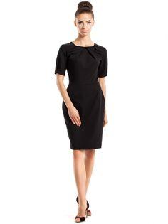 Dámske Elegantné Šaty STYLOVE #dress #little_black_dress #short_sleeve #stylish_outfit #business_fashion #business_outfit Women_fashion
