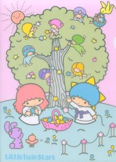 Sanrio Little Twin Stars Wallpaper