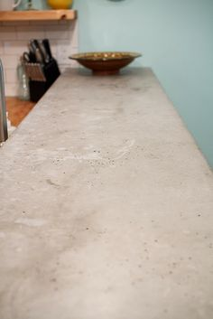 DIY concrete counter top - TLS