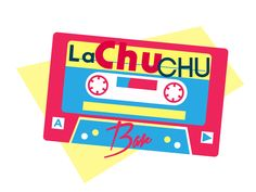 La ChuChu bar. Logo Cassette.By Jose Gomez, Jogodesign 2016