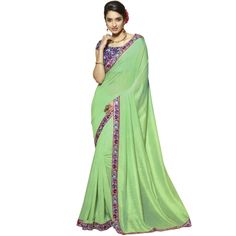 Buy Fancy Sea Green Viscose Casual Wear Saree-316 by undefined, on Paytm, Price: Rs.3224?utm_medium=pintrest