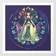 Zelda: Princess of Destiny Art Print by Thomas Randby - $15.60
