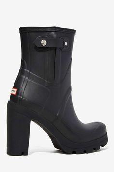Hunter Original High Heel Rainboot - Heels | Shoes