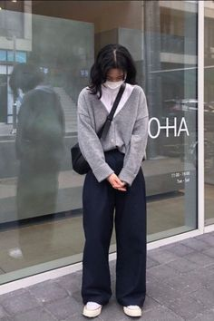 Korean Street Fashion, Asian Fashion, Aesthetic Fashion, Aesthetic Clothes, Cute Casual Outfits, Summer Outfits, Mode Emo, Ulzzang Fashion, Korean Outfits