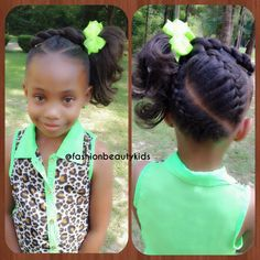 This Dutch Braids hairstyle is absolutely gorgeous for any natural/relax little girl. http://curllsy.com/