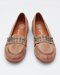 Jeffrey Campbell studded loafers