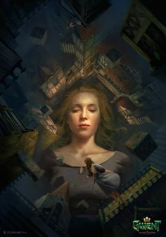ArtStation - Welcome to Novigrad, Lorenzo Mastroianni Cd Project Red, The Witcher Books, Types Of Magic, Witcher Art, Mc Escher, Environment Concept Art, Angels And Demons, Contemporary Paintings, Game Art
