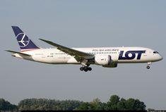 SP-LRE LOT - Polish Airlines Boeing 787-8 Dreamliner