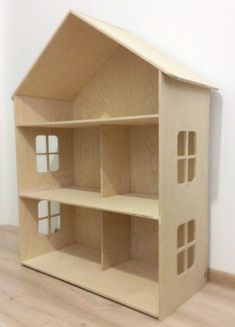 how to build a barbie doll house out of wood Girls Dollhouse, Wooden Dollhouse, Diy Dollhouse, Cardboard Dollhouse, Cardboard Playhouse, Victorian Dollhouse, Barbie Furniture, Dollhouse Furniture, Furniture Decor