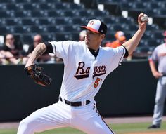 The hard-throwing left-handed Tanner Scott has gotten off to a solid start for the AA Bowie Baysox this season. The Baltimore Orioles' prospect just needs to work on his command.