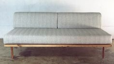 DIY Mid-Century Modern Sofa   Modern Builds   EP. 28 Turns into an almost twin sized bed for guests