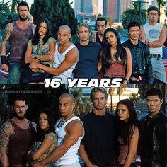 16th anniversary of The Fast of the Furious ❤️ I don't want this to ever end... #thefastandthefurious #rideordie - Mr & Mrs Toretto❤️ (@domlettyscenes)