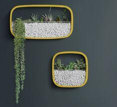Geometric Wall Planters