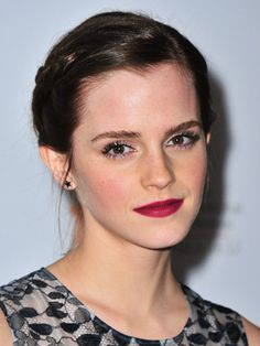 How to Wear the Berry Lips Trend: Daily Beauty Reporter : In my opinion, berry lips are the sexiest trend this fall (and Emma Watson, pictured here at the premiere of The Perks of Being a Wallflower in Toronto, apparently agrees). But that doesn't mean you should just slap on the...