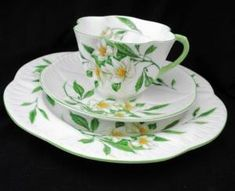 SHELLEY-DAINTY-SYRINGA-TEA-CUP-AND-SAUCER-TRIO by vicky