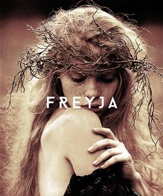 """ mythology meme:  [1/9] deities ↳ Freyja "" Freyja (Old Norse for 'Lady') is the goddess of love, beauty, fertility, magic, and war. She rides a chariot pulled by two cats and owns both the mythical..."