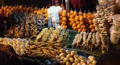 Baguio City, Philippines Street foods Baguio City, Filipino Dishes, Street Food, Philippines, Stuffed Mushrooms, Foods, Vegetables, Desserts, Photos