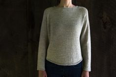 Lightweight Raglan Pullover | Purl Soho - Create