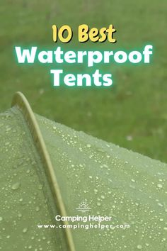 There is a professional waterproof test that most tents worth their salt will have conducted in order to see how good their product stands up to water. This is called the waterproof index and is a great at-a-glance number to look out for when shopping around.  #camping#tent#tentcamping