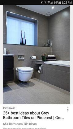 10 Inspirational Examples Of Gray And White Bathrooms U003eu003e This Bathroom  Inside The Upper Park Residence, Designed By Boscolo Interior Design.