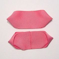 木の葉型リボンの作り方(6) Hair Bows, Ribbon, Sewing, Swimwear, Fashion, Turban Headbands, Turbans, Ribbon Hair Ties, Tape