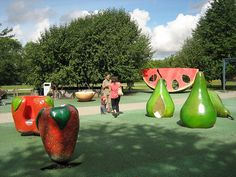 The fruit playground (Fruktparken), Stockholm