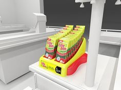 Special POP project developed for a Sponge Brand in Brazil.