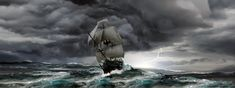 Updated version and final 1 Was bored today so i wanted to sail away Big Storm Cloud On Sea In Christ Alone, The Deed, Sea Art, Good And Evil, Sail Away, Adam And Eve, Storm Clouds, Quito, Life Magazine