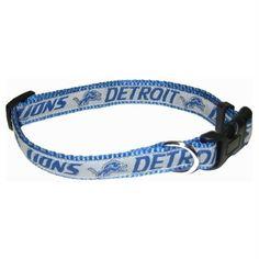 Detroit Lions Pet Collar by Pets First - XL. Dog CarePet CollarsNfl ... 67dc337ca