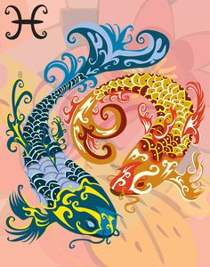 """""""Neptunian people born under Pisces are generous and sympathetic. They are natural lovers with great confidence in their fellow men"""" (source: """"Sun signs: 12 keys to the soul"""" by Angelo & Miriam Distefano)"""