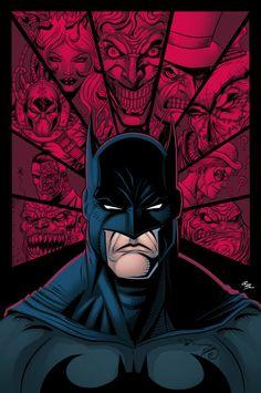 Batman And Villains by GustavoSantos01