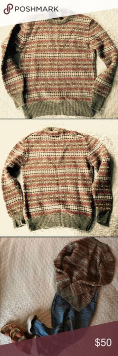 Vintage 💯Shetland Wool Sweater This vintage wool sweater by Cattivo is a true gem and will not disappoint! But hurry, because 1987 actually just called and wants it back asap. The colors are gorgeous and this 100% Shetland wool sweater is about to keep someone (you?) very cozy & stylin all at once. Men's M is on the tag, but puhlease people. Anyone who wants to rock the best sweater in the world can wear this. On that note, I'm listing it as a women's L. It's in amazing condition and I'm…