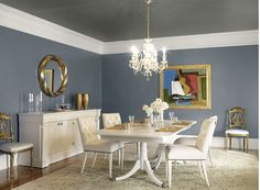 Jessica McIntyre Interiors: DESIGN TIPS   paint the town Benjamen Moore - Wolf Gray   Paint for nursery?