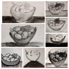 Still Life Drawings with 8th Grade! www.mrsorange.com