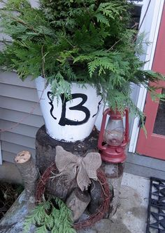 I'm doing this at my front porch.  And I have pretty much everything to do this.