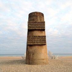 Omaha Beach [D'Day], Normandy, France - so powerful