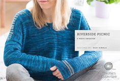 Riverside Picnic Sweater in The Yarn Collective Bloomsbury DK - Downloadable PDF. Discover more patterns by The Yarn Collective at LoveKnitting. The world's largest range of knitting supplies - we stock patterns, yarn, needles and books from all of your f