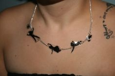 You Can Fly Peter Pan Necklace.