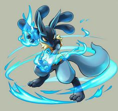 Lucario - Pokemon ~ DarksideAnime