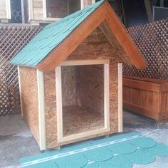 Ekonomik Ahşap Köpek Kulübesi Resmi