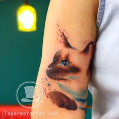 #tattoofriday - Tavares Tattoo, realismo e aquarela;