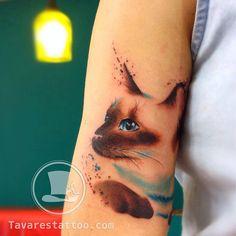 Tavares Tattoo: brasileiro aposta na aquarela e no realismo para criar artes…