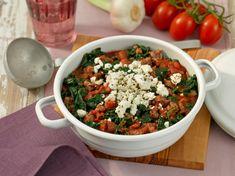 Blitzschnell fertig und so lecker: Hackfleisch-Gemüse-Topf mit Feta.