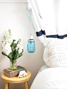Schlafzimmer-Ideen: Hängelampen