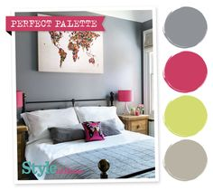 Perfect Palette - for more decorating ideas, go to http://www.housetohome.co.uk/styleathome