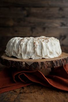 Naturally Ella | Spiced Apple Bundt Cake with Cream Cheese Frosting